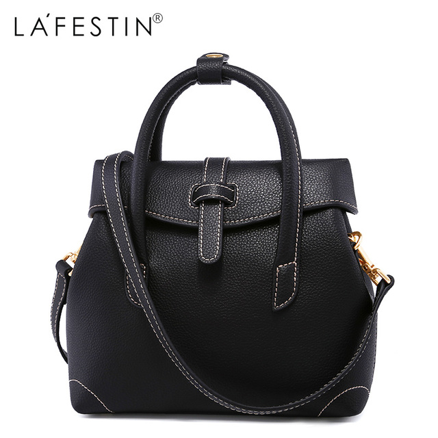 La Festin European And American Style Women Leather Handbags Famous Brands Messenger Single Shoulder Designer High