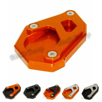 Kickstand Foot Side Stand Extension Pad Support Plate For For KTM 1050 1190 1290 Adventure