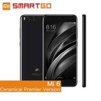 Original Xiaomi Mi6 Mobile Phone Ceramical Premier Version 6GBRAM 128GB ROM Snapdragon 835 Octa Core 1920x1080