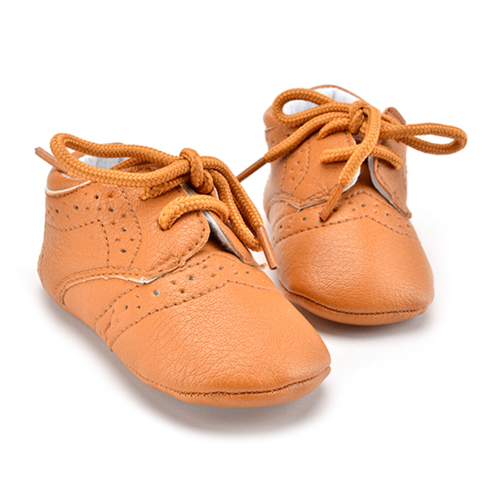 Baby Shoes Sneakers Infant Toddler Unisex Boys Girls Soft Sole PU Leather Shoes Baby Moccasins Newborn Anti Slip First Walkers