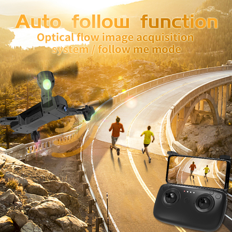 Foldable RC Drone With HD Camera GPS RC Helicopter With High Hold Mode RC Quadrocopter With Headless Mode Toys for Children E in RC Helicopters from Toys Hobbies