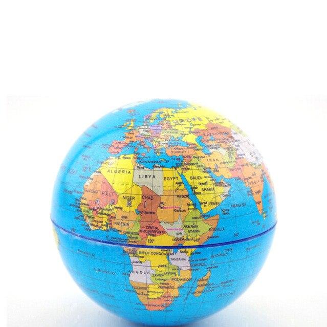 KINDAFLY Solar Rotary Globe Verlichte Wereldbol voor Kids Met Stand ...