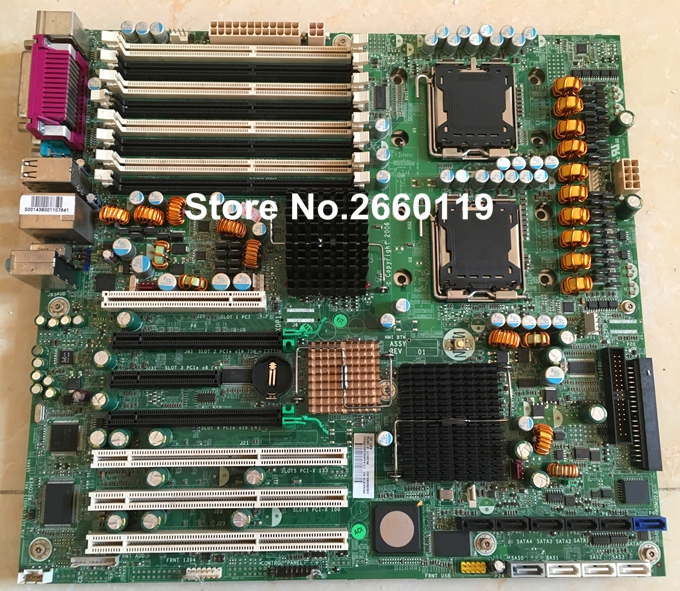 workstation motherboard for XW8400 442028-001 380688-003 system mainboard, fully tested
