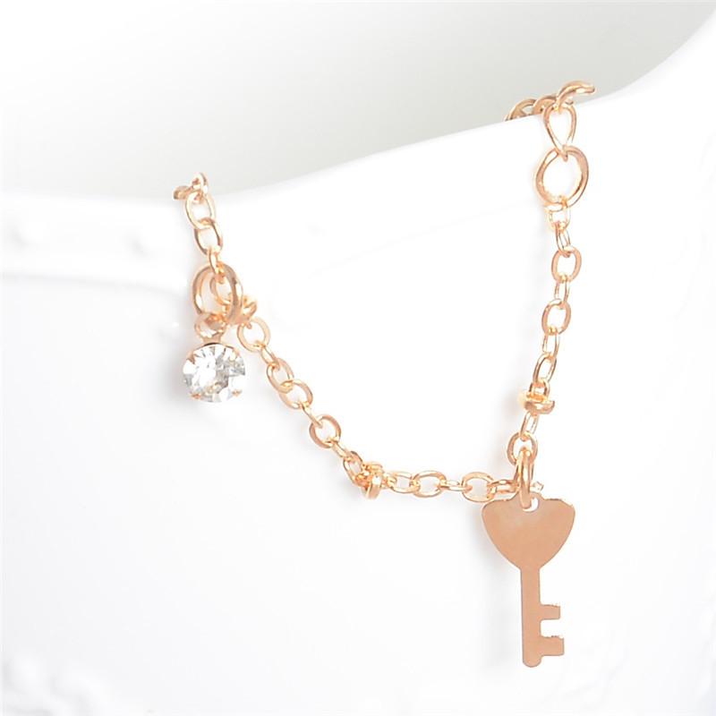 HTB1jS0QLpXXXXcuXXXXq6xXFXXXC Golden Foot Chain Jewelry Spirituality Ankle Bracelet For Women - 5 Styles