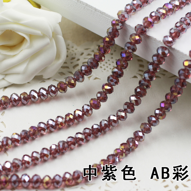 Purple AB Color 2mm,3mm,4mm,6mm,8mm 10mm,12mm 5040# AAA Top Quality loose Crystal Rondelle Glass beads sapphire ab color 2mm 3mm 4mm 6mm 8mm 10mm 12mm 5040 aaa top quality loose crystal rondelle glass beads