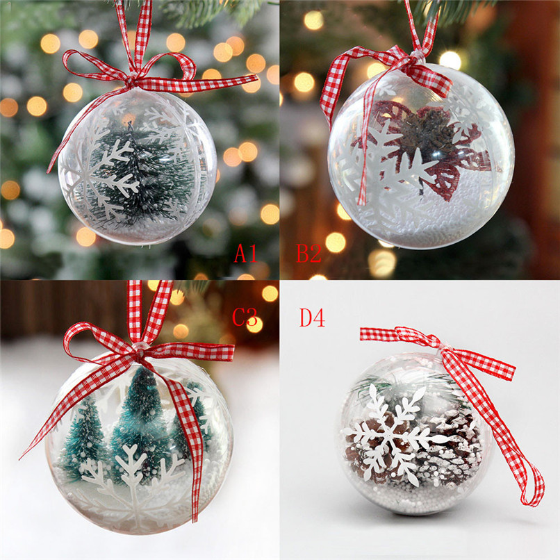 New Arrival 1Pcs Christmas Balls Baubles Party Xmas Tree