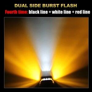 Image 3 - CO LICHT 4 inch 7D LED Arbeit Licht 12V 72W Strobe Seite Shooter Blinkt Auto Fahren Nebel Licht bar für Lada Lkw ATV Boot SUV