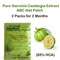 2 Packs Pure Garcinia Cambogia Extracts Weight Loss Effective FUCO Extra Burn Fat 80 HCA