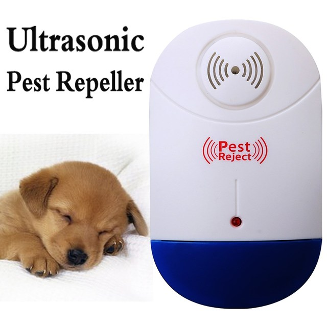Ultrasonic Pest Repeller Electronic Mosquito Control Plug In Rodent Mice Insect Non-toxic Home Garden Pest Control Tools Device