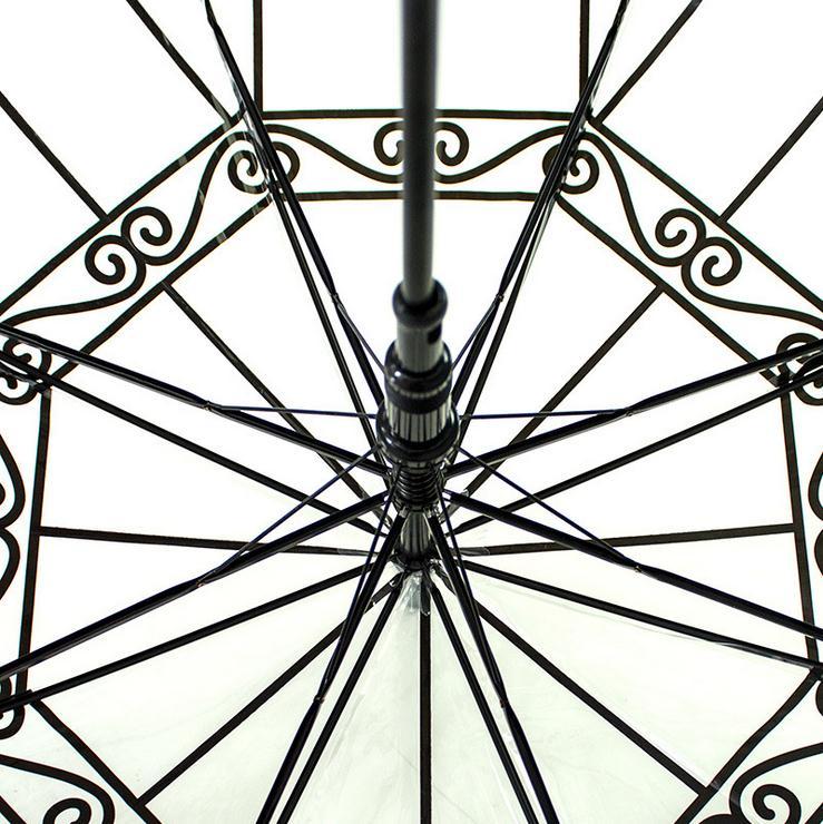 Transparenter Regenschirm Kreativer Vogelkäfig-Sonnenschirm - Haushaltswaren - Foto 6