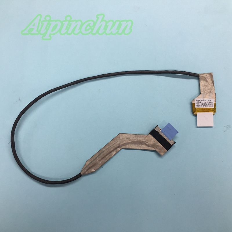 DW70 for Dell Vostro 3700 V3700 Laptop Screen LCD Flex Video Cable P//N:50.4RU01.001 0FWGVX - Computer Cables Aipinchun LCD Cable Cable Length: Other