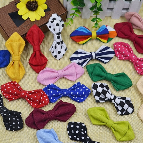 Fashion Bowtie For Baby Boys Adjustable Cotton Bow Ties Children Boy Ties Slim Shirt Accessories Banquet Bow Ties Brand