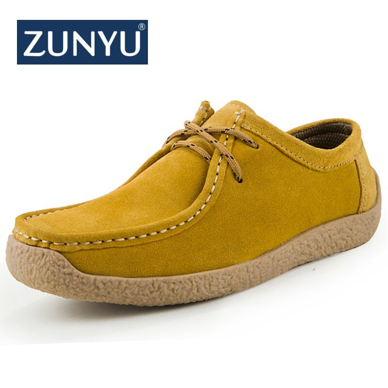 ZUNYU New Men Genuine Leather Loafers Shoes Tenis Masculino Adulto Handmade Moccasins Soft Leather Slip On Boat Zapatos Hombre