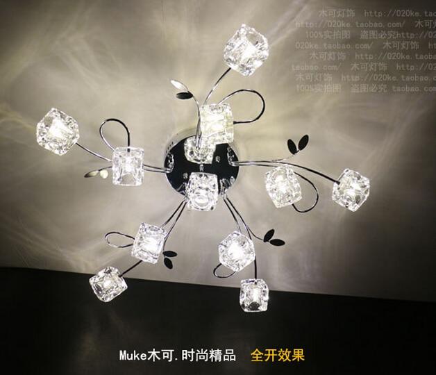 Acquista all'ingrosso online cubo di cristallo lampada da ...