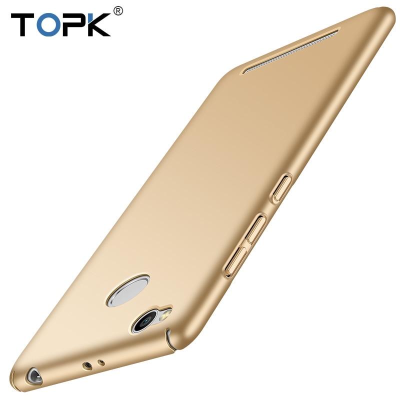 Xiaomi Redmi 3s Pro Case, TOPK Origina PC Plastic Slim Smooth & Matte Hard Phone Case for Xiaomi Redmi 3s / 3s Pro