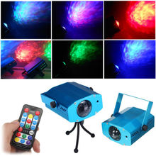 AOBO Lighting IR Remote 3W RGB LED Water Wave Ripple Effect Stage Light lighting Laser Projector