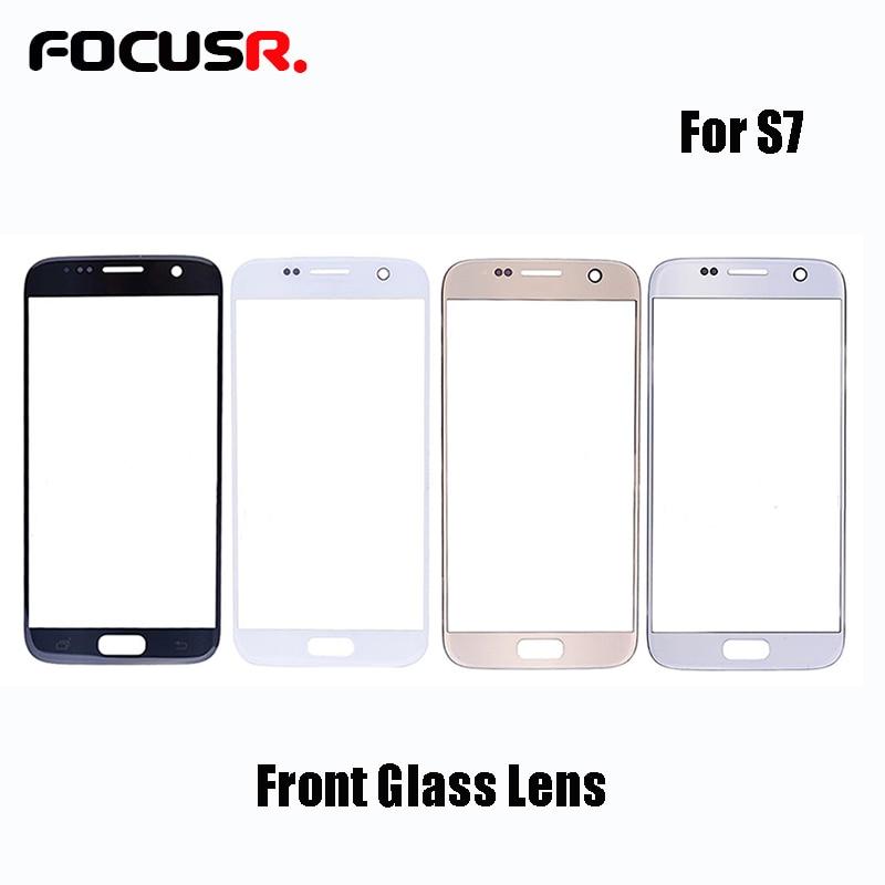 Novecel ORI Tela Frontal de Vidro Da Lente de Substituição Para Samsung Galaxy S7 G930 G930F