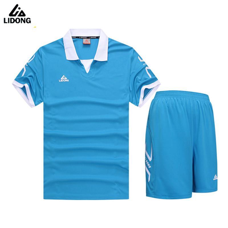 LIDONG 2017 nuevos niños Kits de fútbol de los muchachos establece deportes  uniformes Futbol entrenamiento trajes 88fd929b3b3dd