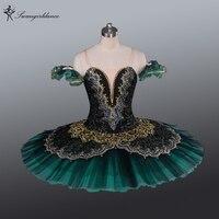 2014 New Arrival Adult Green Ballet Tutu For Performance Professional Classical Ballet Tutus Pancake Tutu Adult