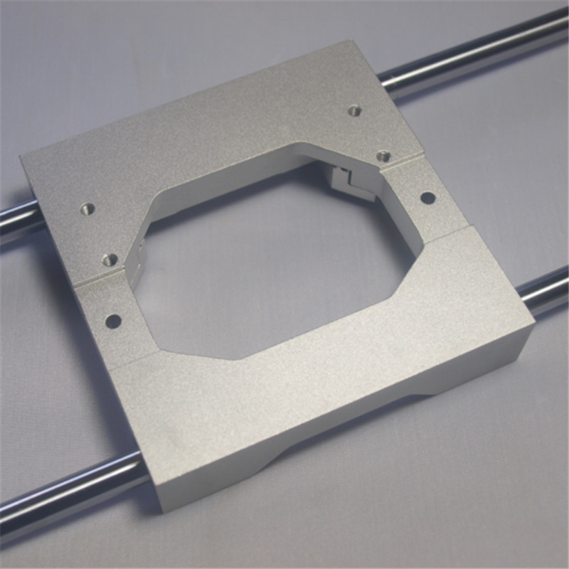 Un Funssor CNC Replicator 2X extrudeuse en aluminium alliage transport 8mm mise à niveau en aluminium alliage X axe double extrudeuse transport kit