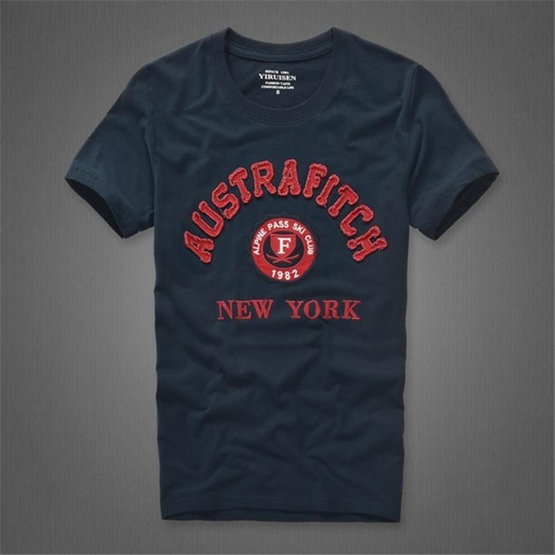 Camiseta t-shirt katoenen O-hals brief man merk - Herenkleding - Foto 2