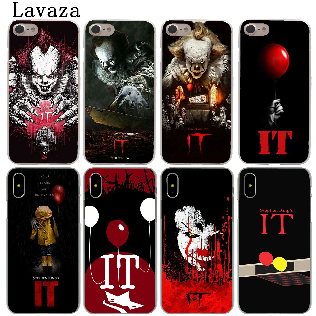 Lavaza Stephen Kings It Hard Fashion Phone Shell Case for Apple iPhone X 10 8 7 6 6S Plus 5 5S SE 5C 4 4S Coque Cover