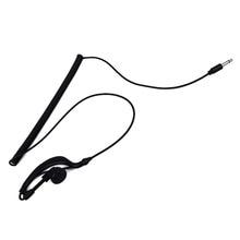 New Hot Sale Free Shipping Earpiece Headset Only Listen 3.5MM Jack Single Earphone TC-617 For walkie talkie Two Way Radios