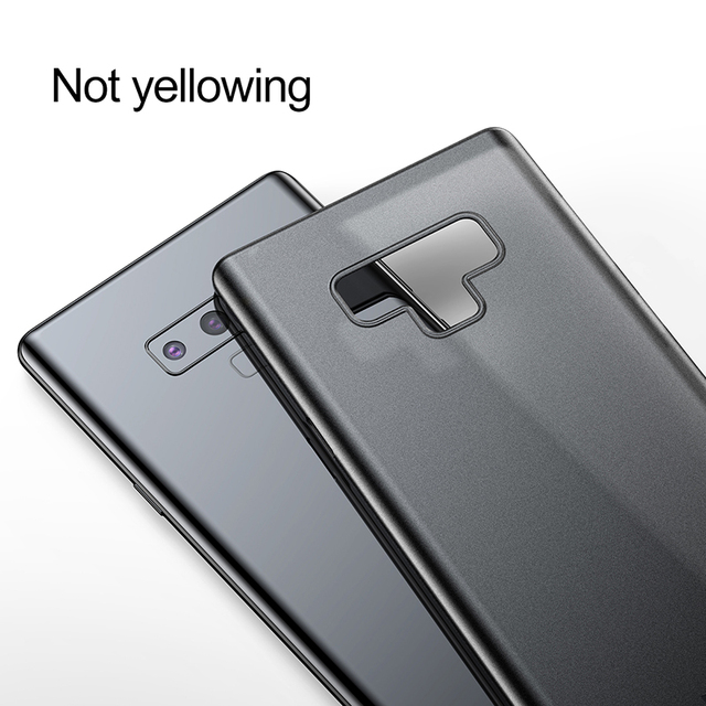 Baseus Samsung Galaxy Note 9 Hard PP Ultra Thin Slim Back Case Cover