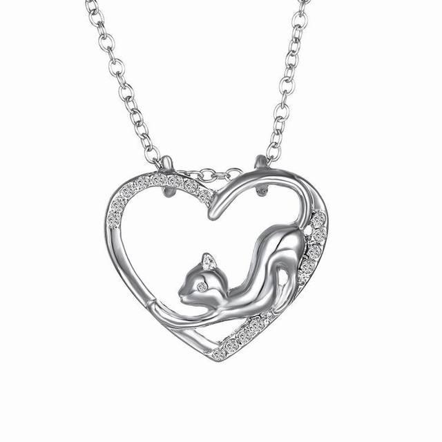 Crystal Rhinestone Black & White Necklace