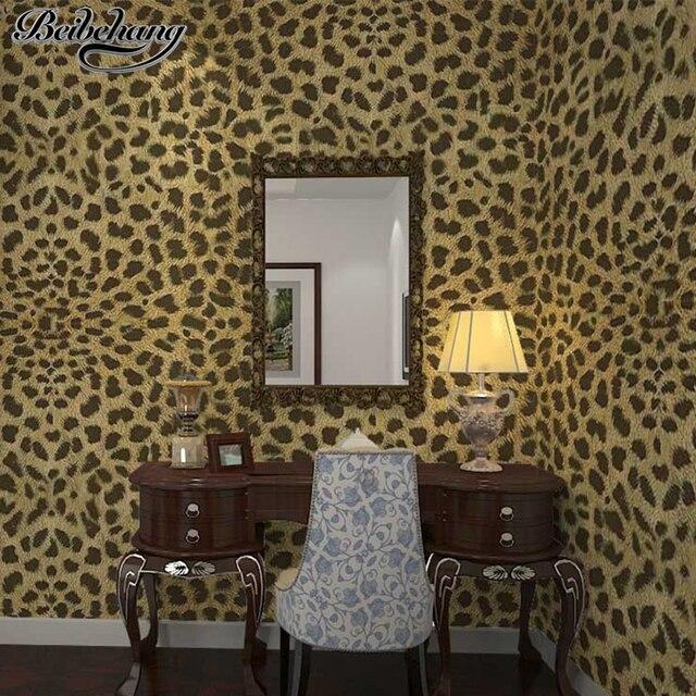 Beibehang 3d reichtum striae drei dimensional tier Tiger Leopard ...