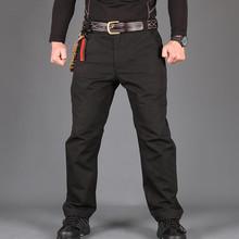 NewTactical spodnie Cargo mężczyźni bojowe wojskowe spodnie militarne bawełna wielu kieszenie Stretch elastyczne mężczyzna spodnie typu casual tanie tanio Pełnej długości Wzór Modalne Poliester Wojskowy Suknem Mieszkanie Cargo pants Midweight REGULAR Zipper fly