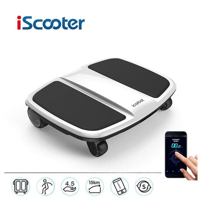 IScooter iCarbot четыре колеса ноутбук Электрический скутер hoverboard проконтролировано телефон Приложение Самостоятельно Балансировки скутер