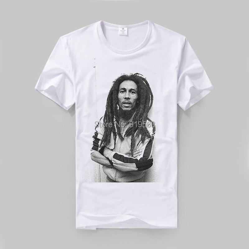 roots reggae jah bless rasta lion bob marley TEE SHIRT men and ...