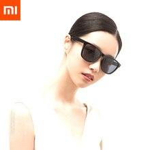 Xiaomi mijia clássico quadrado óculos de sol tac lentes polarizadas/óculos de sol pro proteção uv contra manchas de óleo uso ao ar livre