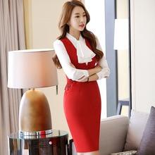 Two Piece Uniform Style Dress