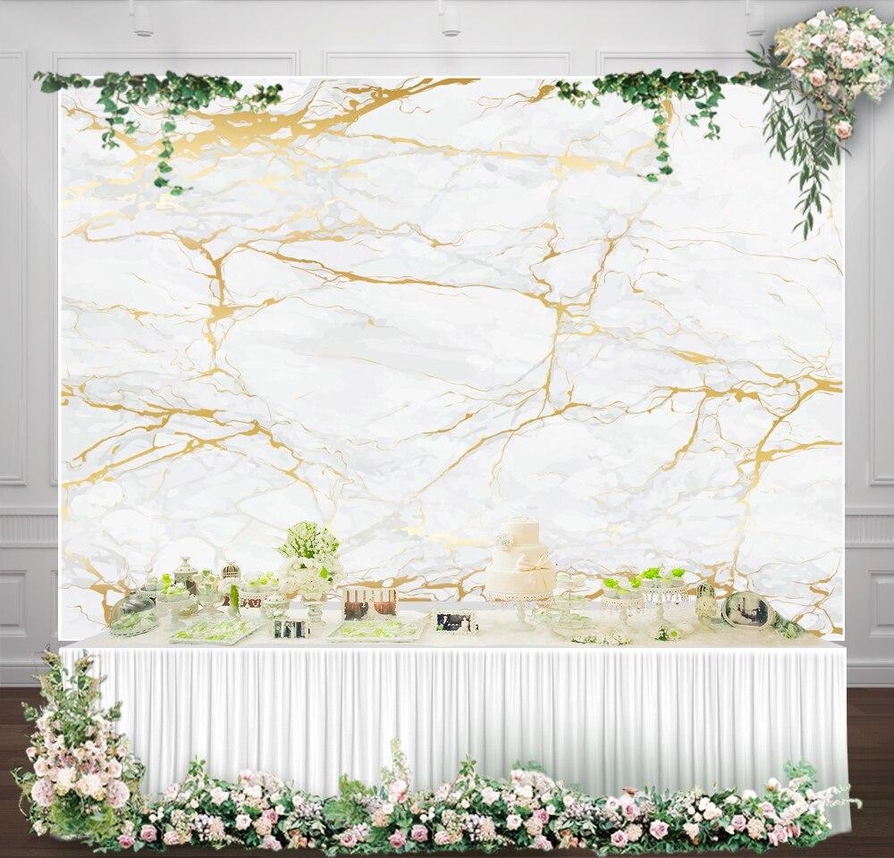 Wedding White Background: White Marble Backdrop For Photography Wedding Background