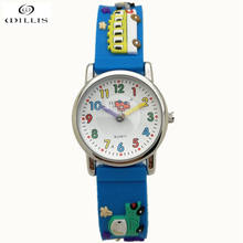 WILLIS Brand Time Teacher Little Boys Children's First Wrist Kids Watches Cartoon Character 3D Cars Children's watches for boys