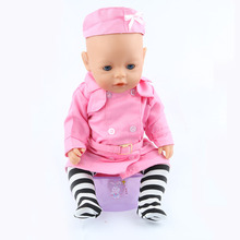 The new 2016doll clothes Wear fit 43cm Baby Born zapf Children best Birthday Gift(only sell clothes)m04
