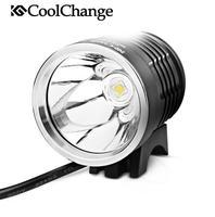 CoolChange 1200lm GREE X2 Lamp Super Bright Front Bike Light MTB Mountain Bike Bicycle Headlight Handlebar