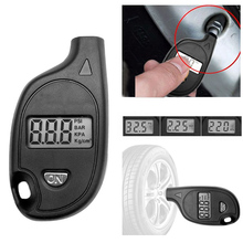 2 150PSI Diagnostic Tool Digital LCD Display Tire Air Pressure Gauge Universal