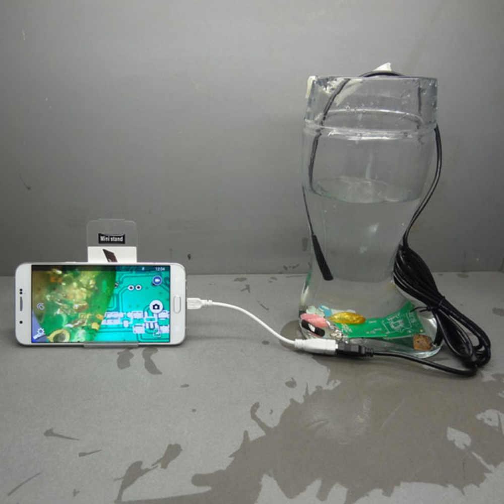 LESHP 2 メートル 10 ミリメートルレンズ防水 USB 内視鏡 HD 720P CMOS 4 LED パイプ検査カメラ内視鏡ヘビチューブ Android 携帯用 PC