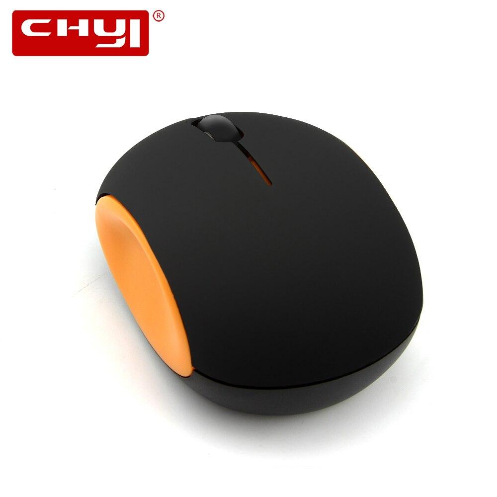 b486c7d2aa2 CHYI Mini Mute Wireless Rechargeable Mouse Ergonomic 2.4G 1200 DPI Micro  USB Port Built-