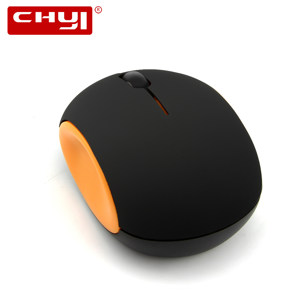 CHYI Mini Mute Wireless Rechargeable Mouse Ergonomic 2.4G 1200 DPI Micro USB Port Built-in Lithium Battery Nano Receiver For PC