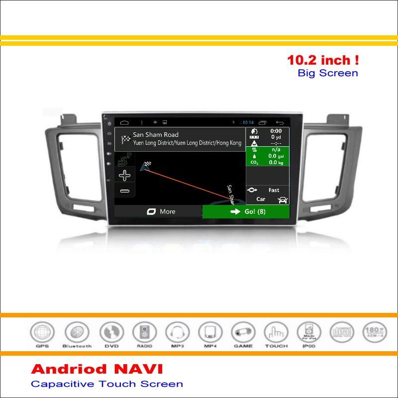 XA40 coche Android Sistema de Navegación GPS Navi Para Toyota RAV4 2013 ~  de Ra