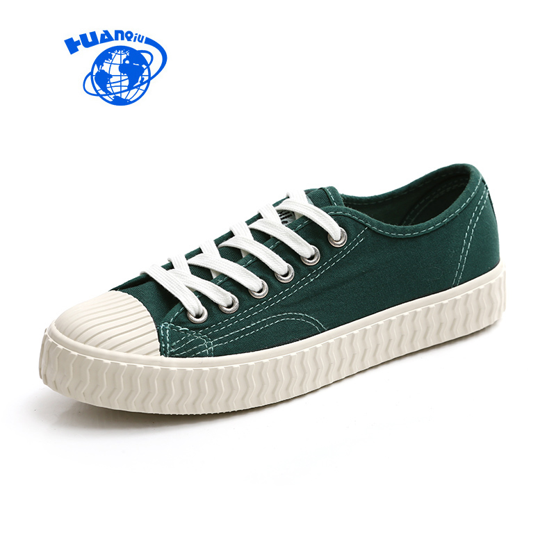 HUANQIU Women Shoes Canvas Casual Sneakers Candy Color Famous Brand 2017 Spring Fashion Trends Girls All