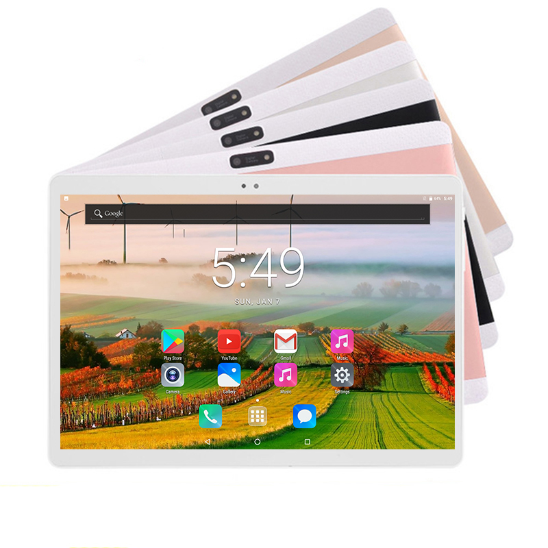 2019 Newest 10 inch Tablet PC MTK8752 Octa Core 4GB RAM 64GB ROM Android 8 0