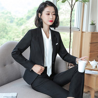 a7aa00f9a7 Business Formal Women Skirt Suit Autumn Fashion Elegant Temperament Blazer  Skirt Office Lady Plus Size Work. Mulheres de negócios formais terno saia  outono ...