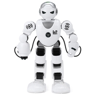 New Intelligent RC Robot Funny Game Toys 2.4G Dancing Battle Robot Model Toy Multi function Remote Control Robots Kit Gift