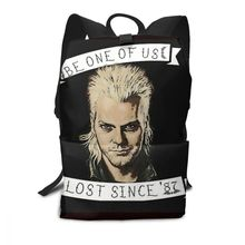Vampire Backpack The Lost Boys Davids Invitation Backpacks Pattern Men - Women Bag Student Multi Purpose Trending Bags