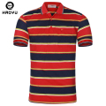 HAOYU High Quality Brand Men Polo Shirt Slim Fit New Summer Casual Striped Cotton Men's Polo Shirt Homme For Men Plus Size